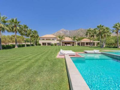 Superb Villa in a Prestigious Location, Sierra Blanca, Marbella